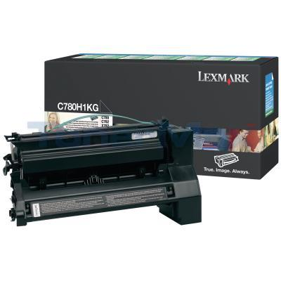 LEXMARK C780 X782 TONER CARTRIDGE BLACK 10K RP